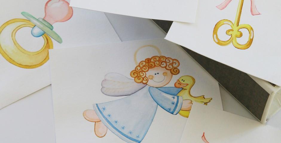 Illustrazioni Nascita - Battesimo