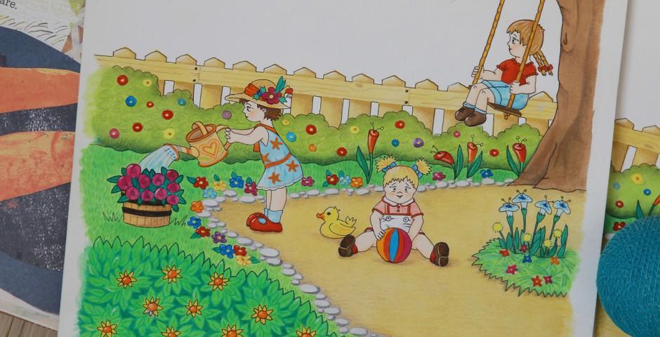 Illustrazione Libro Bambini