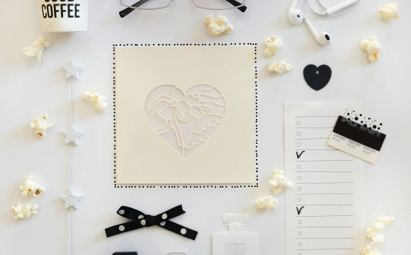 WEDDING CARD LASER BLACK&WHITE