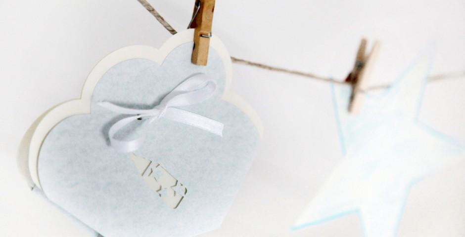 Scatolina laser porta confetti - Battesimo