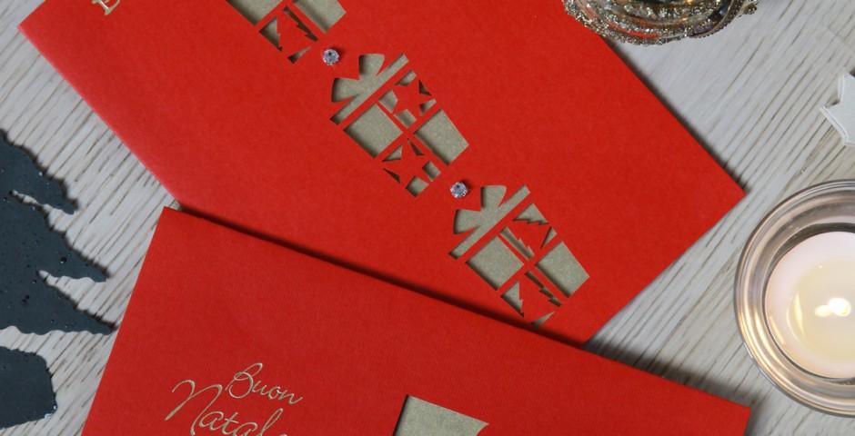 Biglietti laser Natale